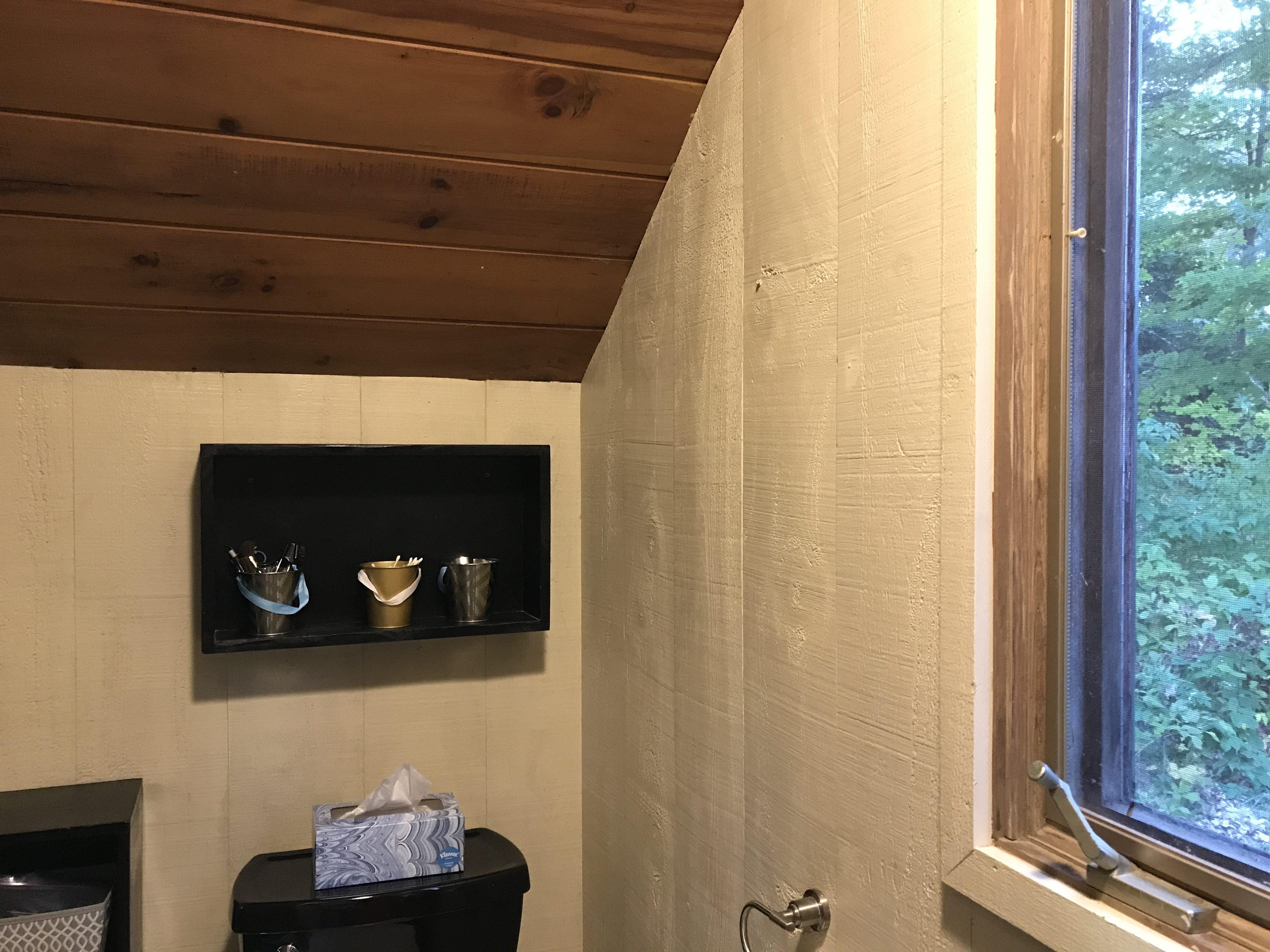 Wood Walls Bathroom