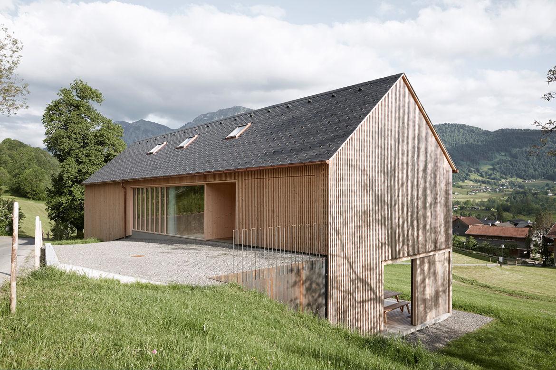 Gabled Modern House