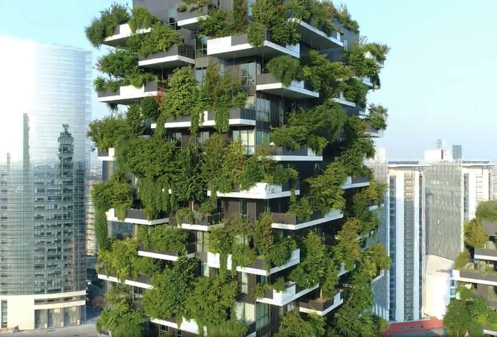 Vertical Forest Apartment