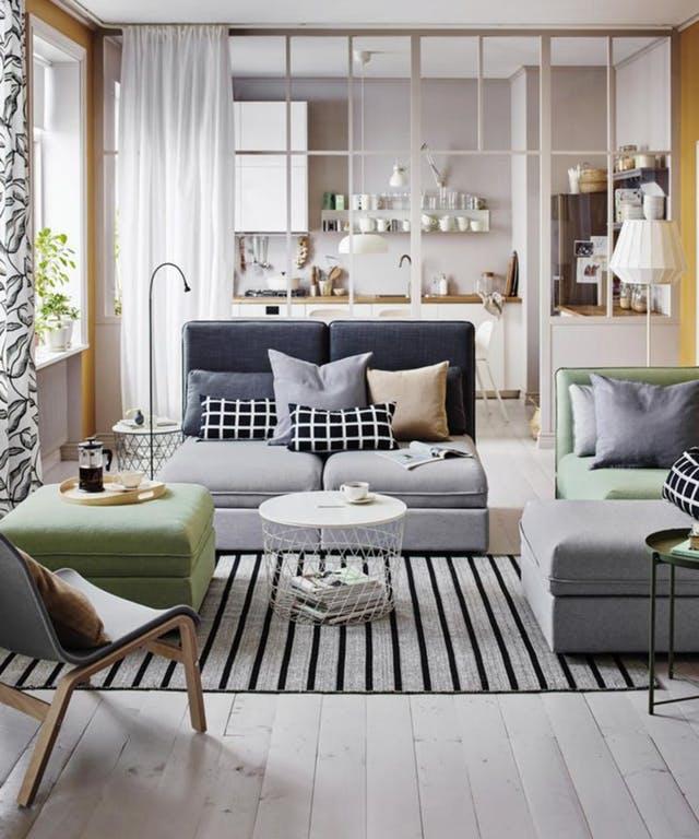 Living Room Divider